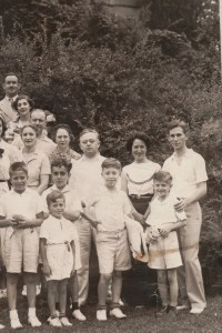 Fourth Annual Broida Family Reunion, July 11, 1937. Youngstown, Ohio. #10