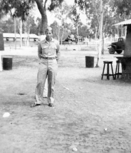 Edward A. McMurray, Jr., in South Pacific or Australia, c1944.