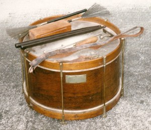 Civil War Drum of Abram F. Springsteen.