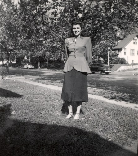 Mary Helbling McMurray, Easter, 1949