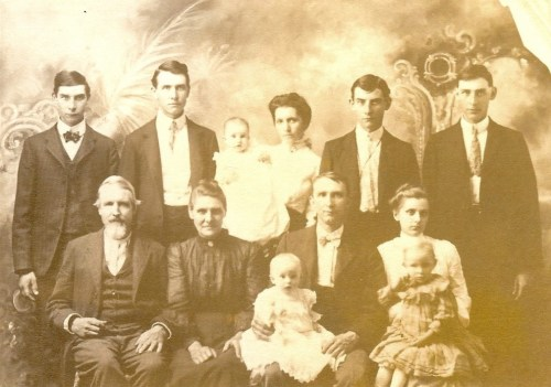 1904 Underwood Family Portrait