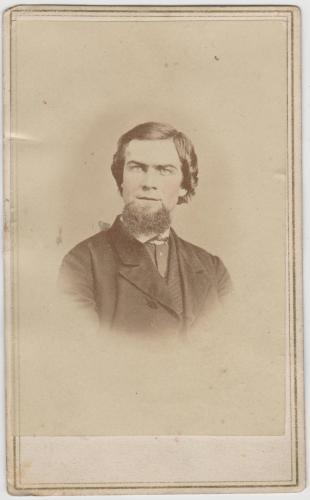 Samuel T. Beerbower portrait, circa 1860s? Posted with kind permission of the Marion County Historical Society (MCHS), Ohio. (Click to enlarge.)