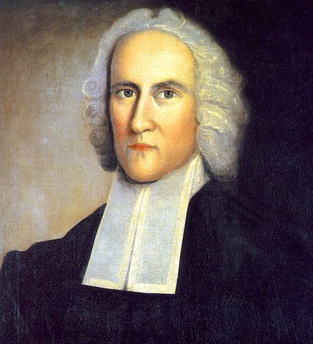 Jonathan Edwards, Theologian (1703-1758), via Wikimedia Commons, public domain.