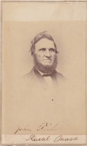 John Fisk Russell, Massachusetts