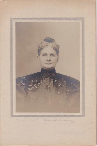 Mrs. W. C. Sanderson Eureka Springs, Ark