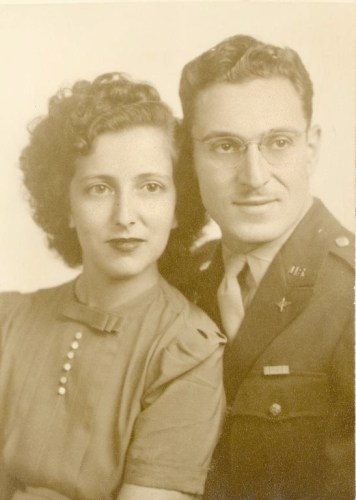 Ray and Jerry (Gerald) Broida,probably mid-1940s. Family photo.