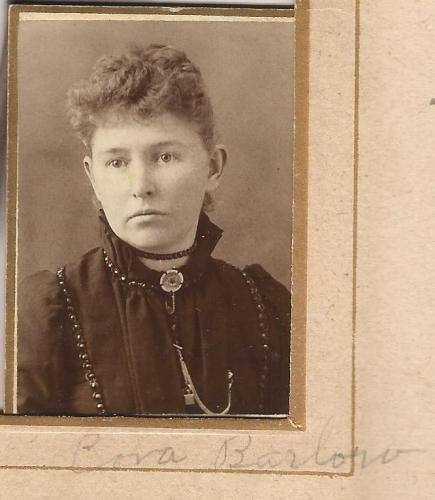 Cora Barlow from the Lloyd Roberts Family Photo Collection.