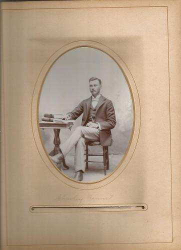 Charley Bennett, from the William Roberts Family Photo Collection.