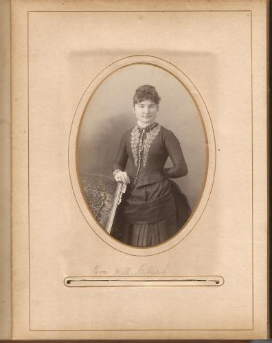 Eva Hill Clark from the Lloyd Roberts Family Photo Collection.