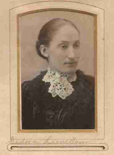 Cedora Liewellan, from the William Roberts Family Photo Collection.