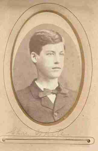 Charles White, from the William Roberts Family Photo Collection