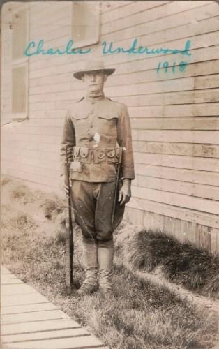 Charles Francis Underwood in 1918.