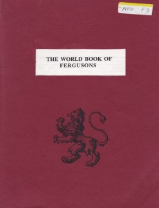 book of ferguson