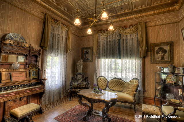 Ice House Interior