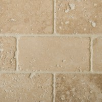 Classic Travertine Bricks Tumbled & Filled