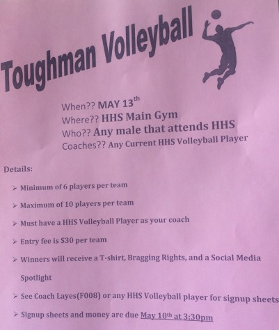 Toughman Volleyball