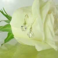 Raw Crystal Gold Earrings Natural Herkimer Diamonds Mine ...