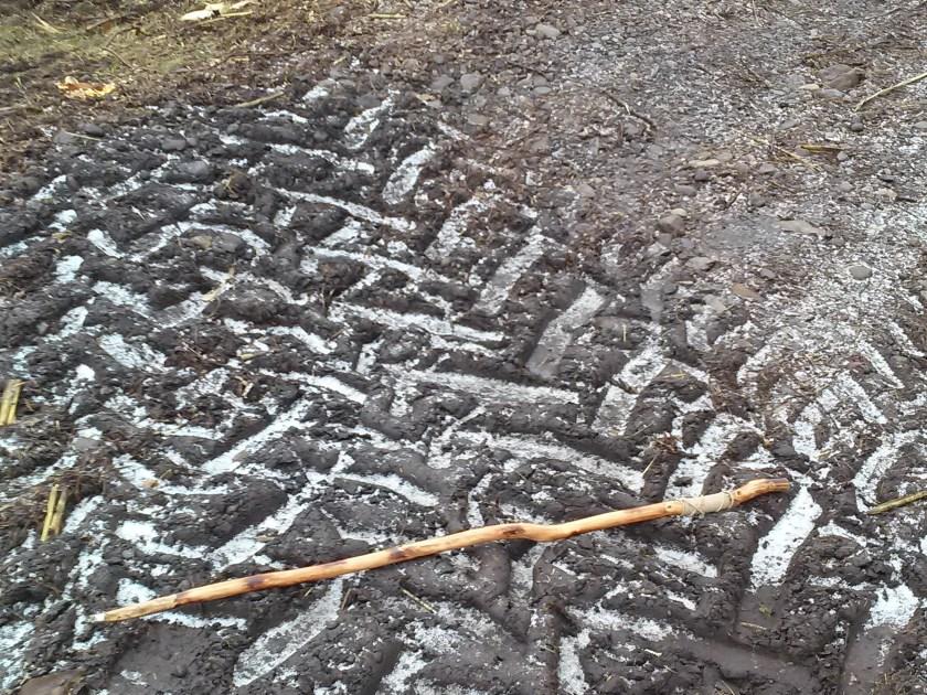 Herkimer meth bridge more giant tire tracks