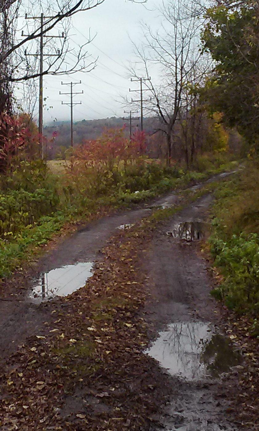 road to historic Herkimer meth-making enampment