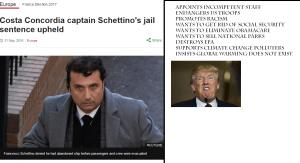 bad captain Donald Trump