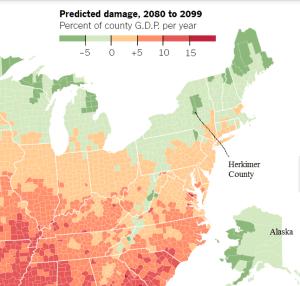 Herkimer NY GDP increase