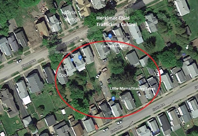 Herkimer NY child trafficking hub 341 Eureka Avenue