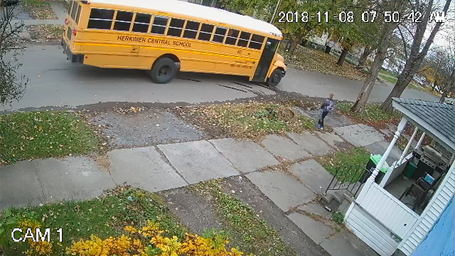 New home security installation sparks poison gas attack during school bus pickups