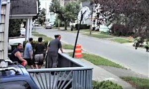 Herkimer's Kim Vargas glares at neighbor's cameras