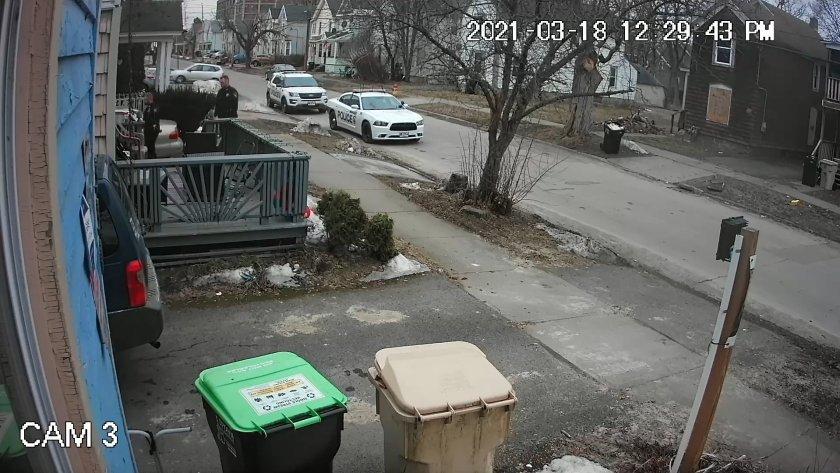 Herkimer Police respond to Kim Vargas 328 Pleasant Avenue
