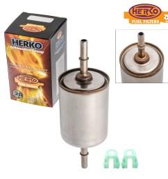 details about herko fuel filter fgm01 for daewoo saab jaguar buick oldsmobile cadillac 90 07 [ 2400 x 2400 Pixel ]
