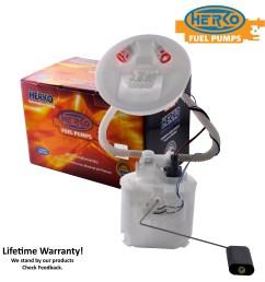 details about herko fuel pump module 049ge for ford focus 2 0l 2000 2004 [ 2400 x 2400 Pixel ]