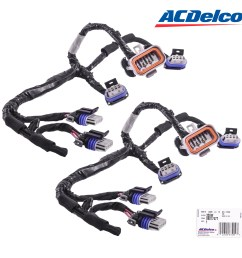 details about set of 2 acdelco ignition coil lead 355w 89017477 wiring harness for d585 [ 2400 x 2400 Pixel ]