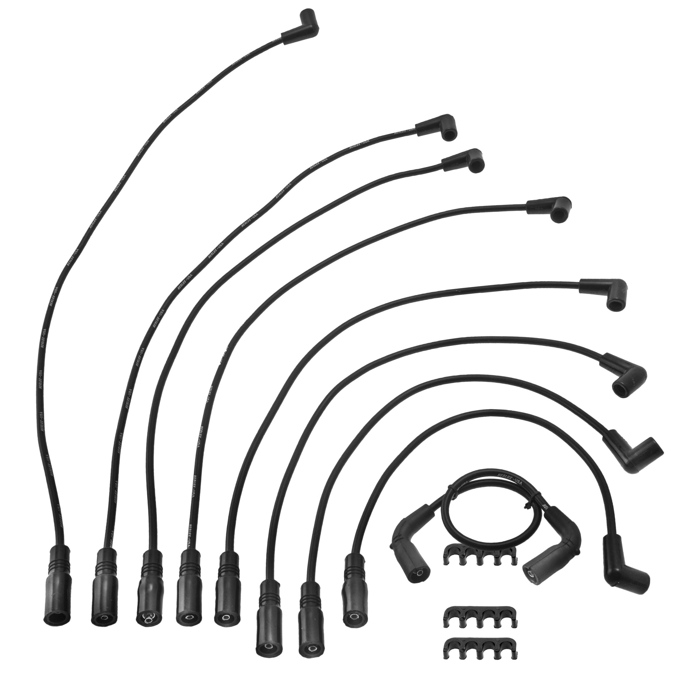 Herko Spark Plug Wire Set WGM07 For Cadillac GMC Isuzu