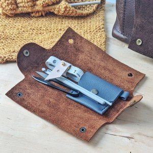 Robin Accessory Pouch Open Displayed