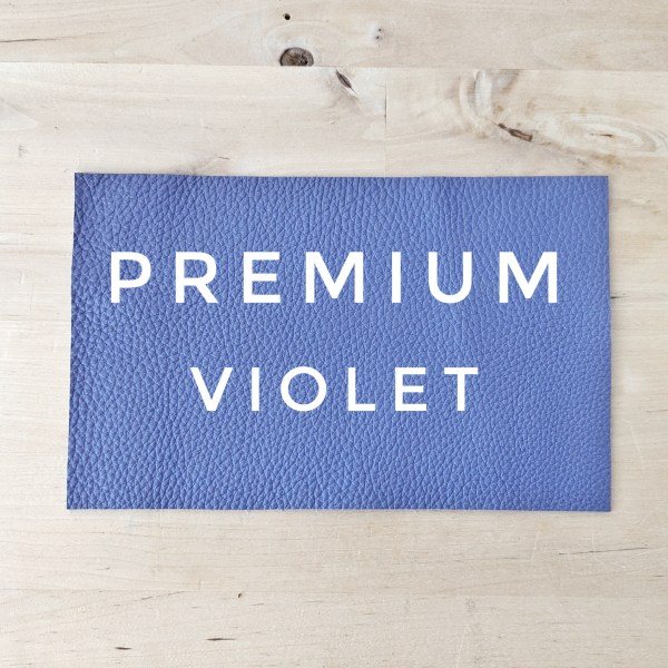 Premium Leather Choice - Violet