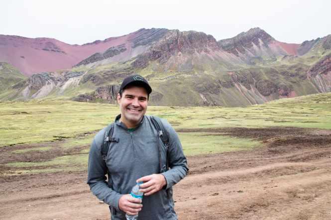 Rainbow Mountain Peru Hiking Trail