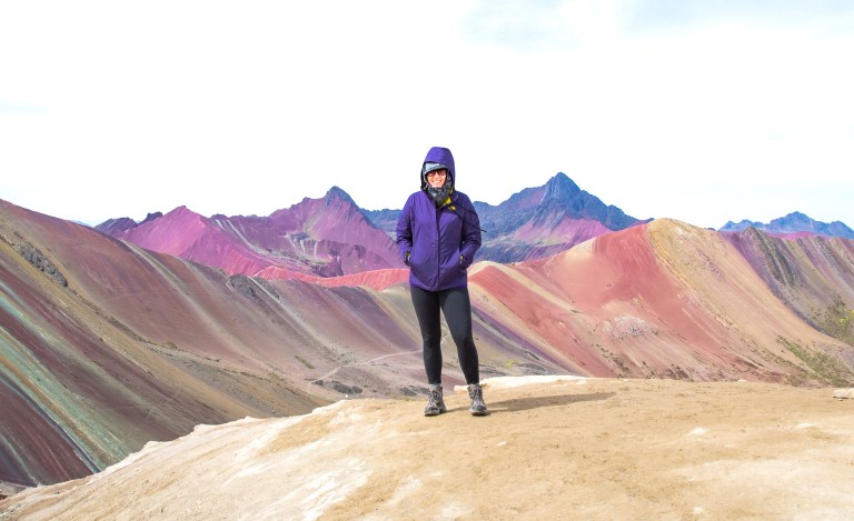 Her Life Adventures Rainbow Mountain Peru Trek