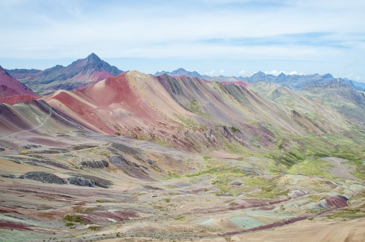Rainbow Mountain Peru Hike