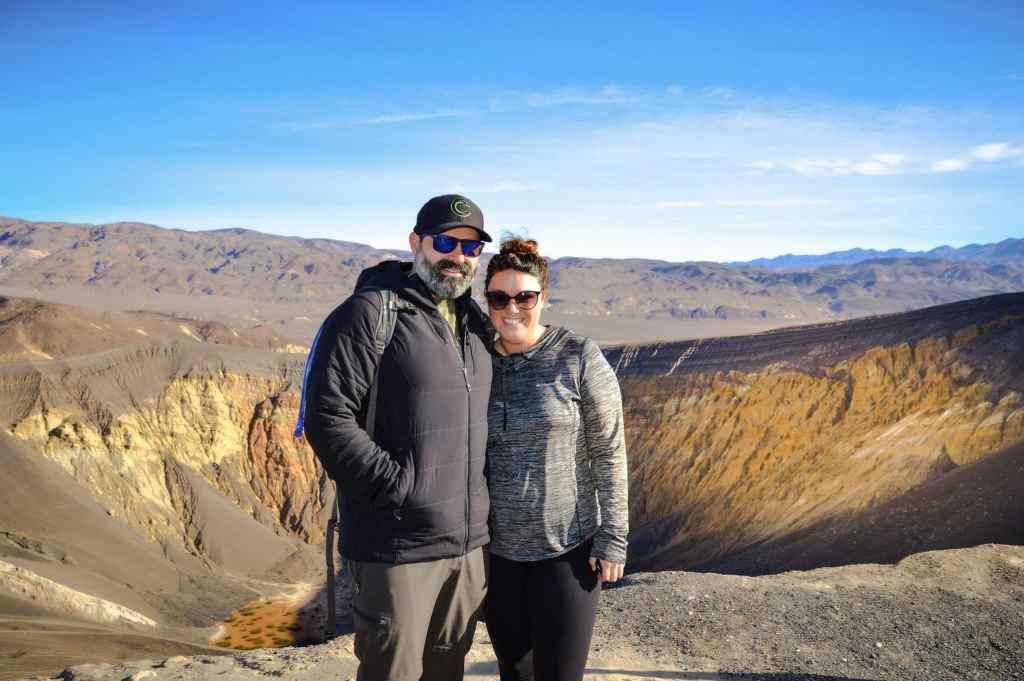 Ubehebe Crater Overlook in Death Valley National Park