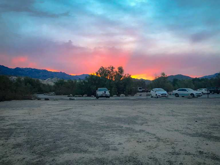sunset campground