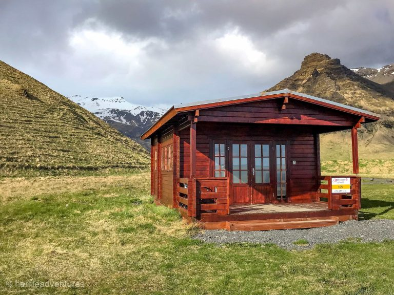 South Iceland cabin accommodations.