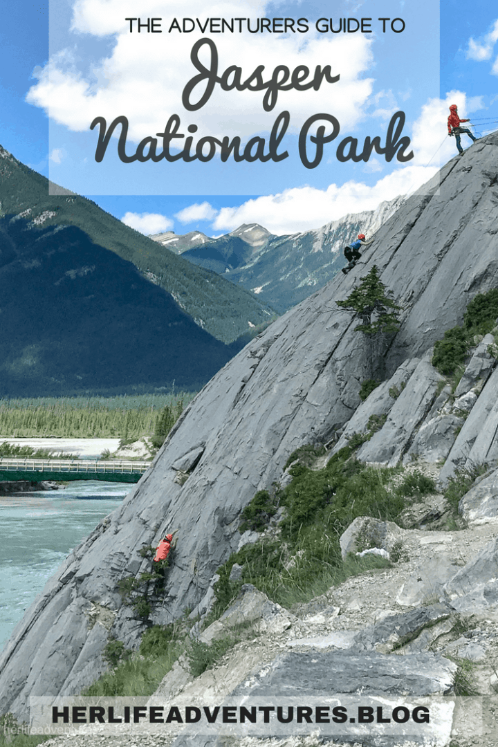 The adventurers guide to JASPER NATIONAL PARK