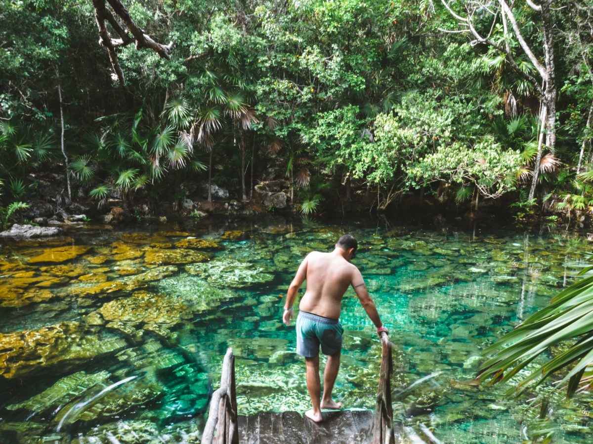 Tulum Mexico's hidden gem, with secret cenote. Most beautiful + best cenote in the Tulum area of the Yucatan peninsula. | herlifeadventures.blog | #mexico #mexicotravel #mexicopacking #wheretostay #hiddengem #mexicovacation #travelhacks #travelguide #adventuretravel #traveltips #northamerica #traveldestinations #travelexperience #bestbeach #cenote #beautifulplaces #adventure #explore