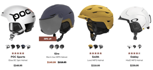 Safety gear helmet for your Winter Adventure to Big Sky Montana including things to do, where to stay, and how to dress for winter conditions.