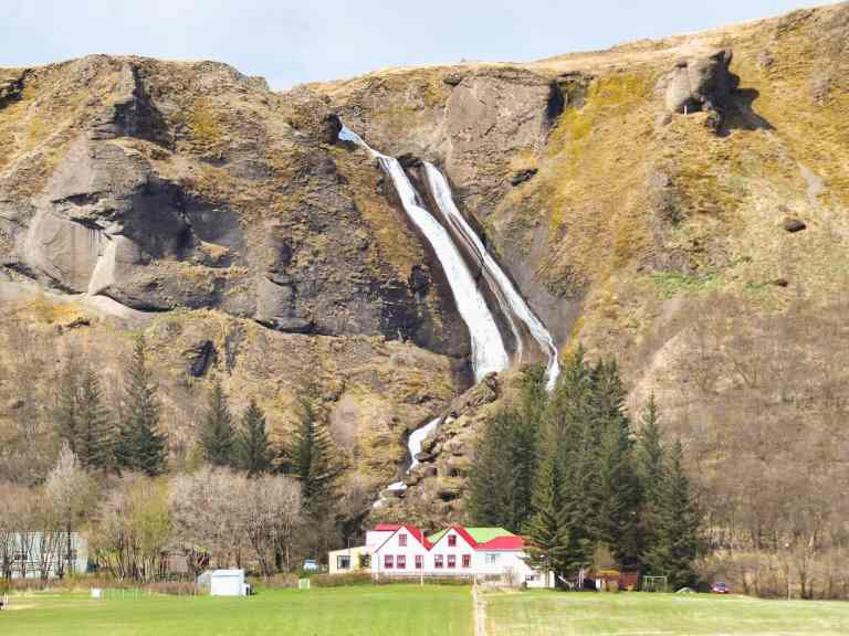 Must see waterfalls on your Iceland road trip around the ring road.  Hidden gems, cascading waterfalls and some of the most beautiful landscape I've ever seen. | herlifeadventures.blog |  #icelandtravel #hiddengem #icelandvacation #travelhacks #travelguide #adventuretravel #traveltips #europe #traveldestinations #travelexperience #waterfalls #iceland #beautifulplaces #adventure #explore