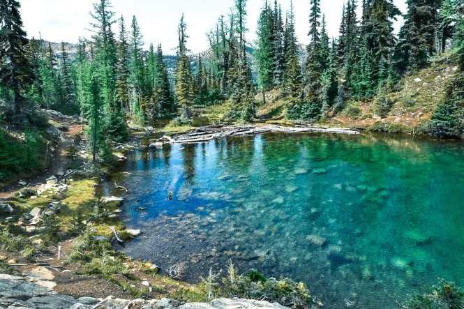 Blue Lake North Cascades National Park