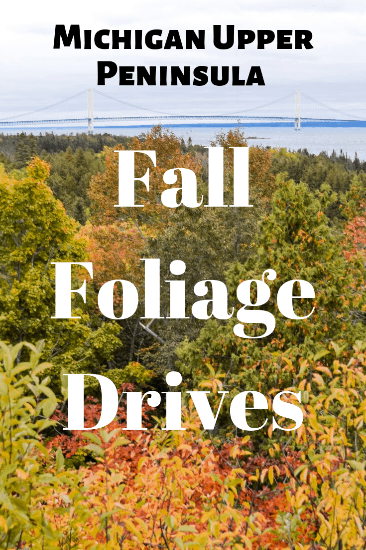 Take a road trip this fall along the beautiful forests of Michigan. The bright fall colors will dazzle you along the best drives Michigan offers! #michigan #travel #roadtrip #fallcolors #thingstodo