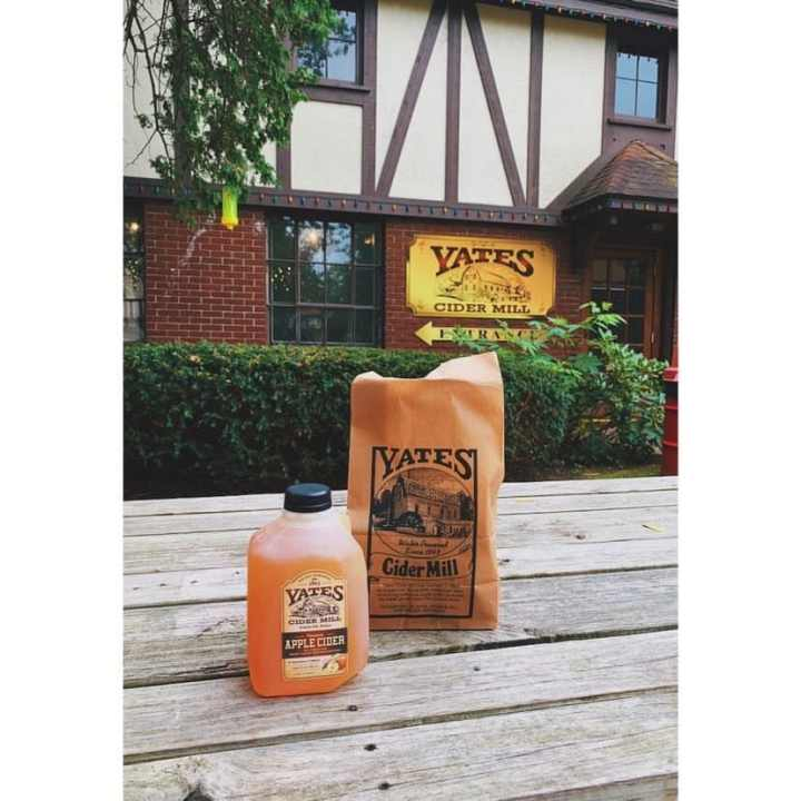Yates Historic Cider Mill + 10 of the best cider mills in Michigan; find out what they are, and why you must go when you visit Michigan. | HerLifeAdventures | #cidermill #cidermilldonuts #michigan #falltreats #applecider #homemadedonuts #applepicking #falldesserts #cidermilldoughnuts #falltravel #traveldestinations #whatisacidermill
