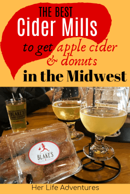 The best cider mills in Michigan; find out what they are, and why you must go when you visit Michigan. | HerLifeAdventures | #cidermill #cidermilldonuts #michigan #falltreats #applecider #homemadedonuts #applepicking #falldesserts #cidermilldoughnuts #falltravel #traveldestinations #whatisacidermill