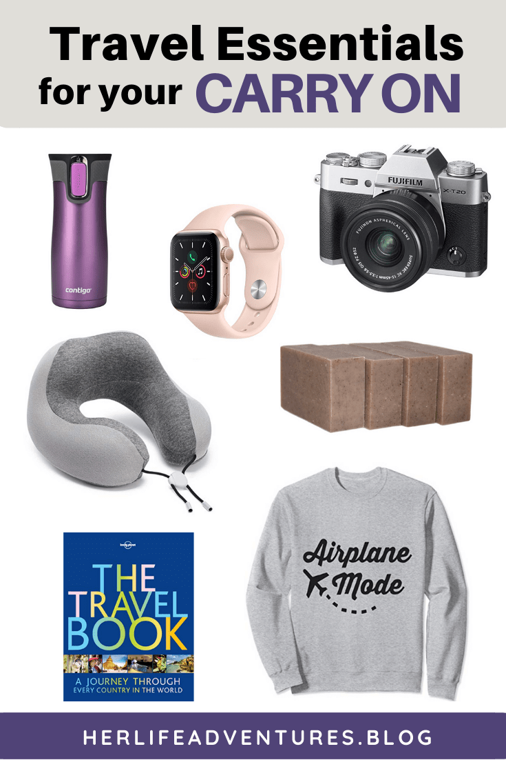 Travel Essentials Weekend Packing Guide. Use this list so you know what to pack for a weekend getaway. This also make great travel gift ideas! | Her Life Adventures |
